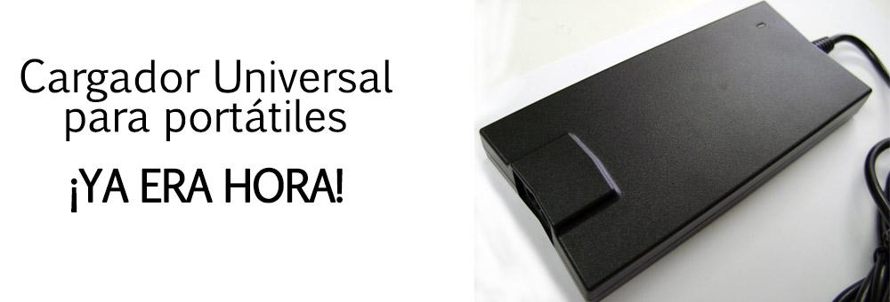 Cargador Universal para portátiles | ¡Ya era hora!