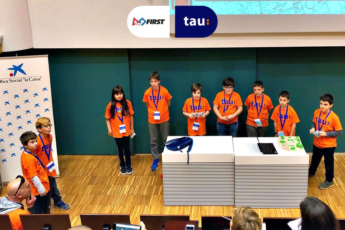 First Lego League en Barcelona - Equipo de ciencia, tecnología y robótica de Tau Formar