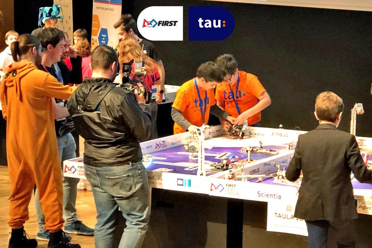 First Lego League Into Orbit en Barcelona con Tau, empresa de robotica educativa en Santa Coloma de Gramenet