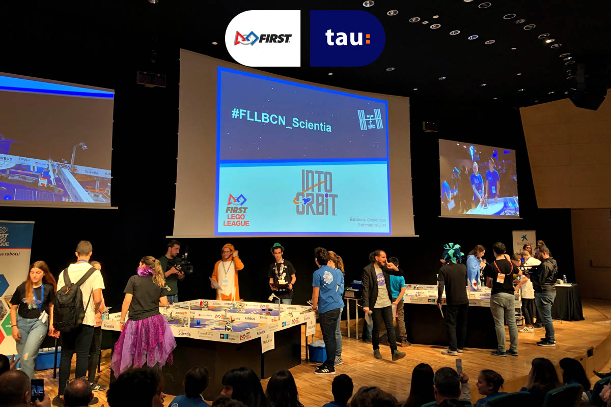 First Lego League Into Orbit - Fundación Scientia en Barcelona