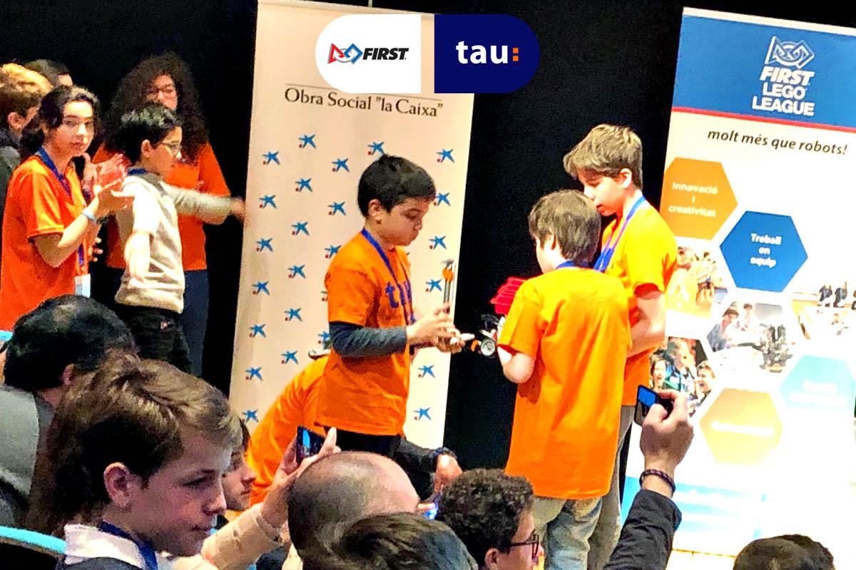 First Lego League en Cosmocaixa de Barcelona - Tau Formar