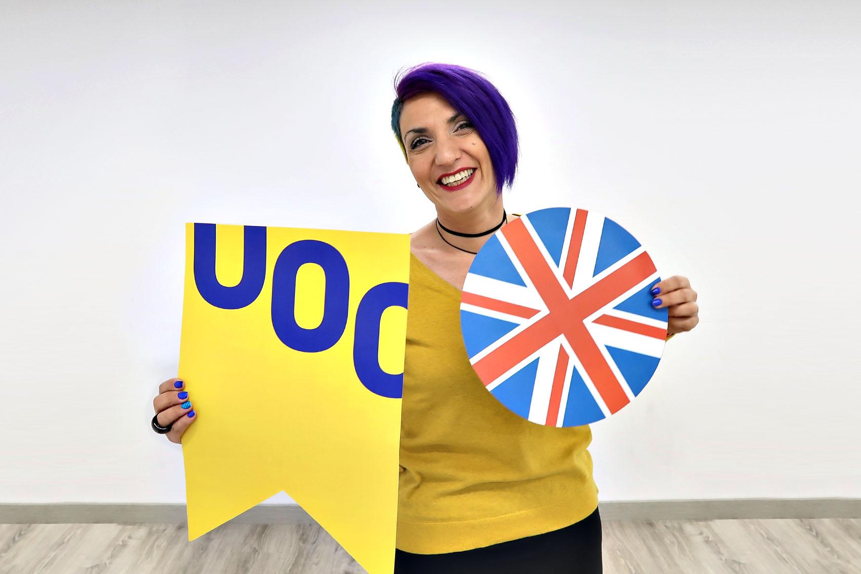 Dunya Martínez English teacher UOC