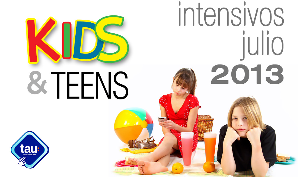 Cursos intensivos Kids and teens