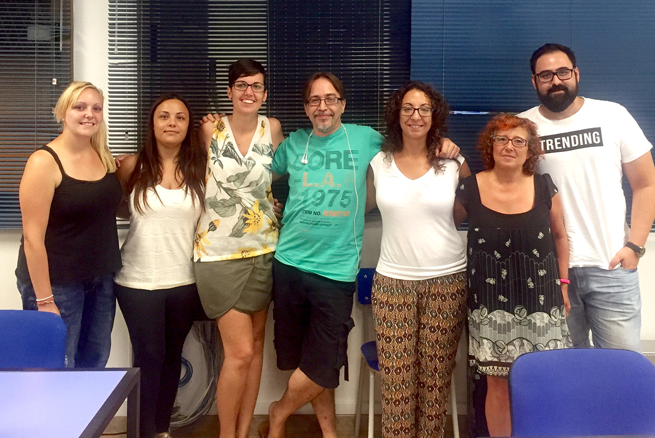 Mis alumnos y yo, del Curso de Marketing Online