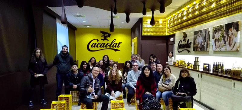 Visita a Cacaolat