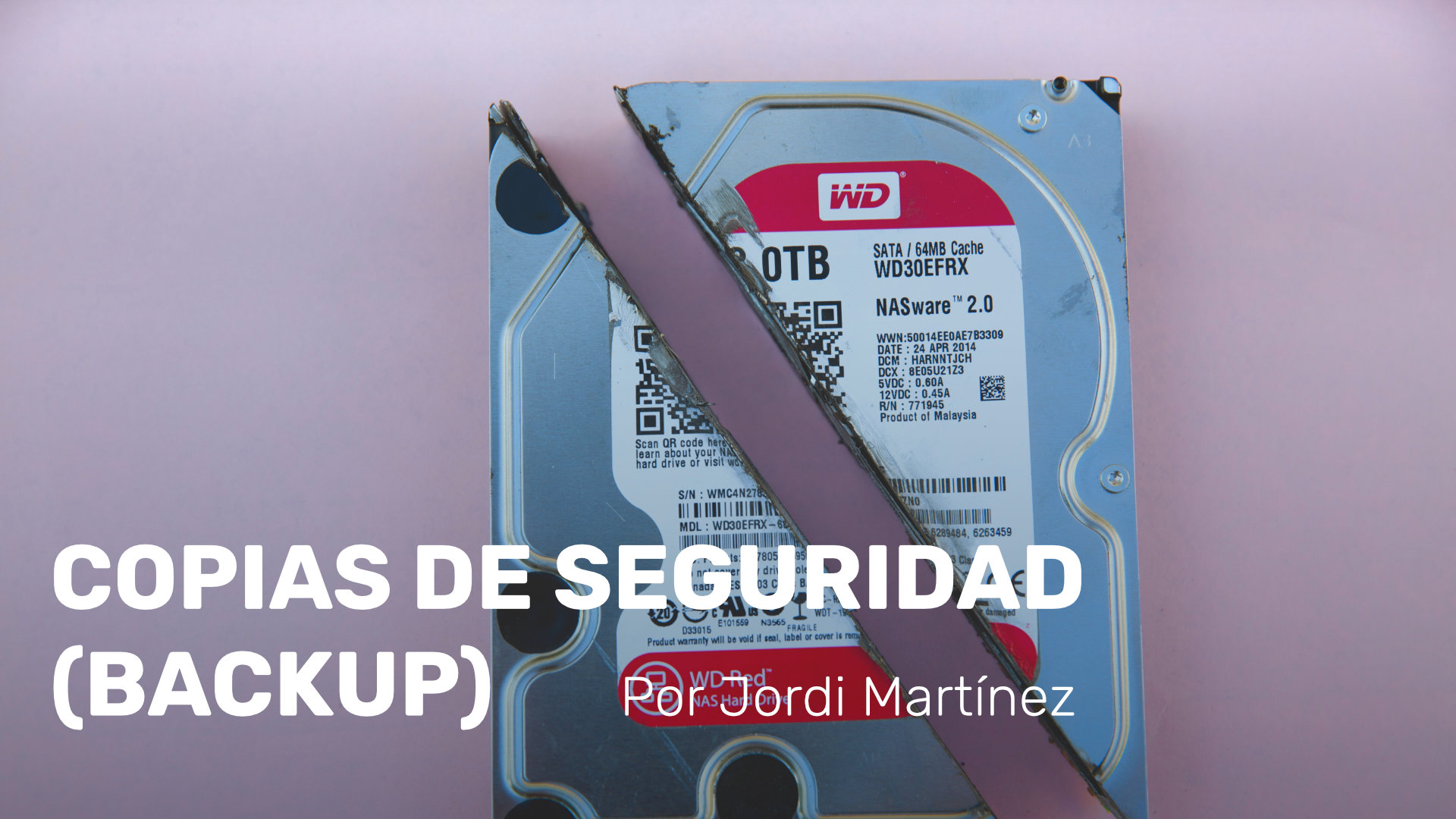 Copias de seguridad (Backup)